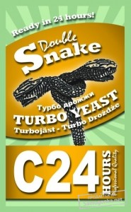 Турбо дрожжи Double Snake Turbo Yeast C 24 175 г