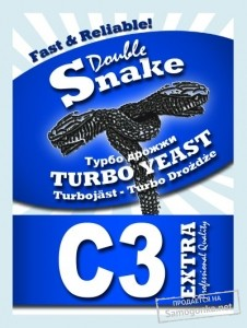 Турбо дрожжи Double Snake Turbo Yeast C 3 90 г